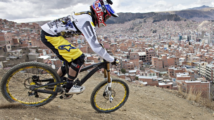 Filip Polc POV from Descenso del Cóndor - Photo - Video | Red Bull Bike