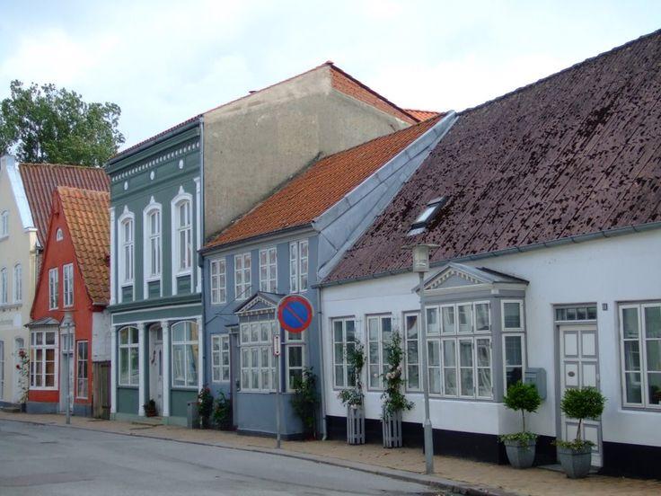 Gamle huse i Tønder