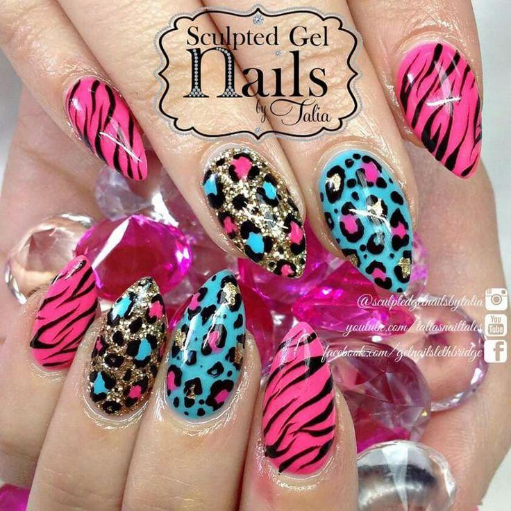 159 best fantasy nails images on Pinterest | Nail design, Nail ...