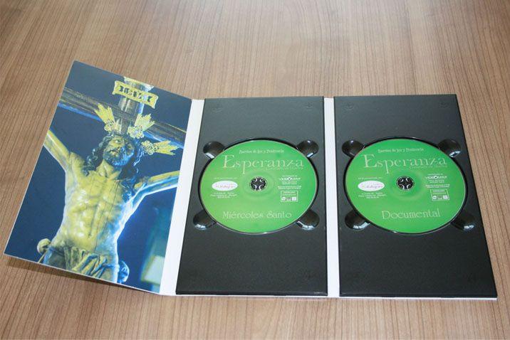Duplicación de #dvd para prensa en acabado especial de cartón.