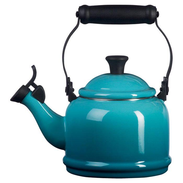 Le Creuset 1.25-qt. Demi Tea Kettle- PERFECT color for the kitchen!