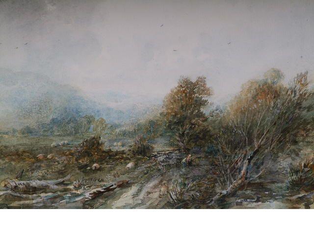 """Albert Pollitt """"Roewen near Conway"""","""