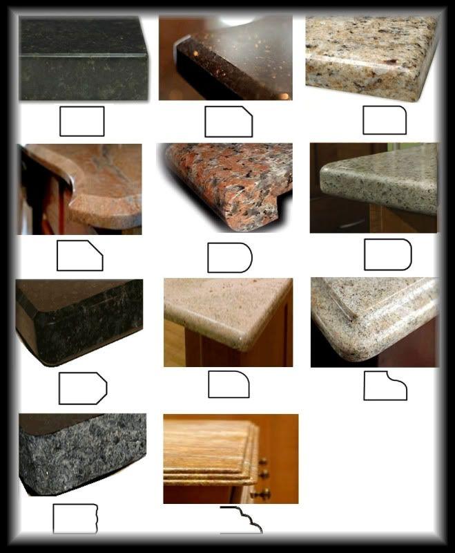 round types of kitchen countertops   AGONIZING over quartz counter edge choice!! - Kitchens ...