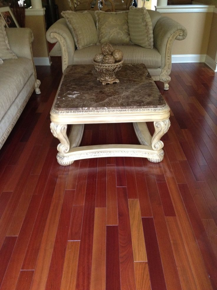 Brazilian Cherry Flooring. Engineered Hardwood ...