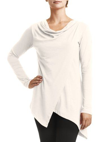FIG Womens Pailin Longsleeve Top Ivory Large * See this great product.