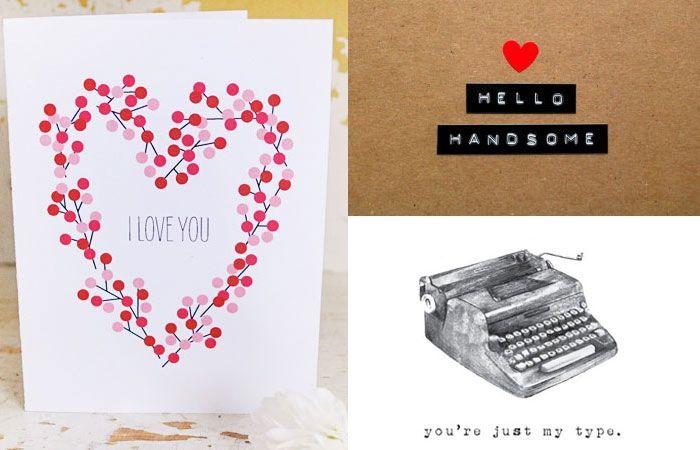 Originelle Valentinstagskarten: «Ich liebe dich» ganz ohne Firlefanz
