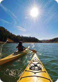Kayaking in Kamloops BC
