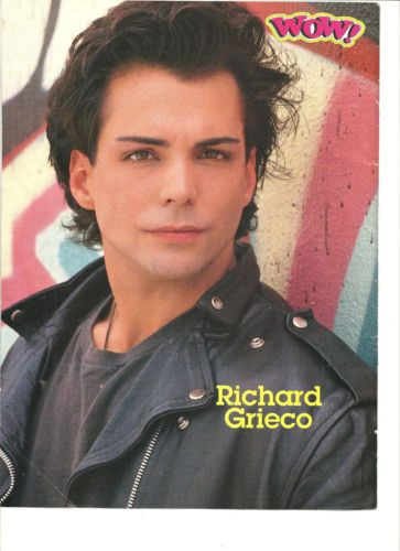 Richard Grieco Full Page Vintage Pinup | eBay