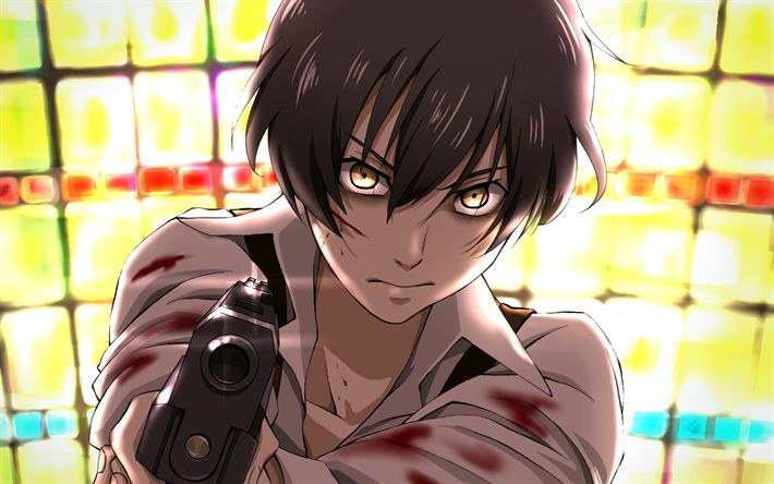 Download wallpapers 91 Days, Avilio Bruno, Angelo Lacusa, Japanese manga, portrait, anime characters