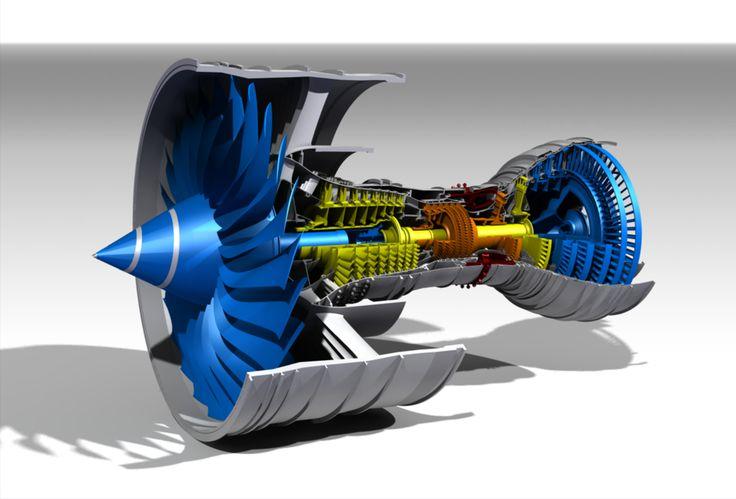 Rolls-Royce Trent 900 Turbofan
