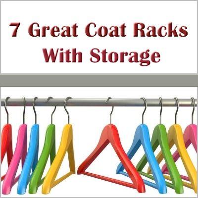 7 great coat racks with storage. #favorites #coat-rack-with-storage