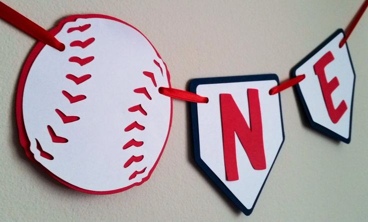 """Baseball highchair banner 5 star review! ★★★★★ """"I love this banner it was adorable! Thank you so much for making all the changes I asked and getting it to me so fast!!"""" #etsy #birthday #iam1 #firstbirthday #sportsthemedbanner #onebanner #iam1highchair http://etsy.me/2F5lwN5"""