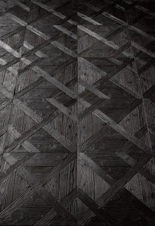 Black Wood Floor Texture