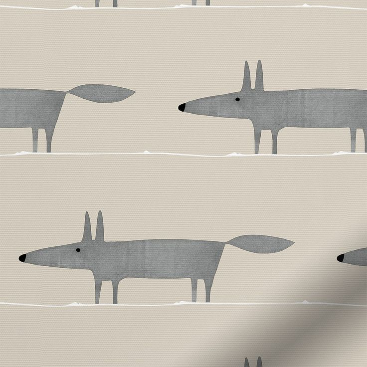 Mr Fox Mini Neutral Roller Blind