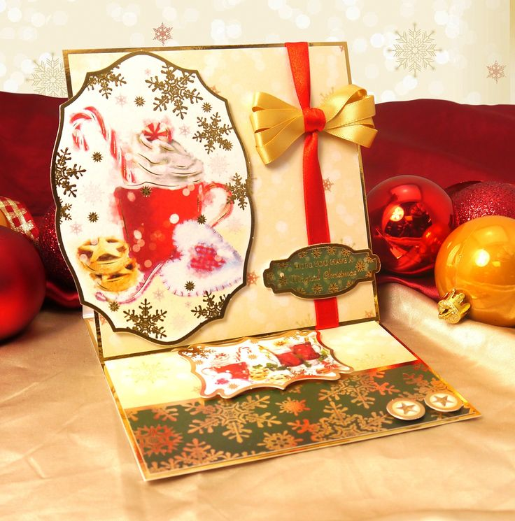A Family Christmas by Hunkydory Crafts. Card made using 'Winter Warmer' topper set http://www.hunkydorycrafts.co.uk/acatalog/Winter-Warmer-Individual-Topper-Set-FAMX903.html#SID=279