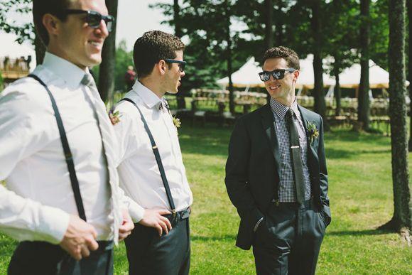 Ženich a jeho mládenci/družbové *** Groom and his groomsmen  A Free People Girl Gets Married | Free People Blog #freepeople