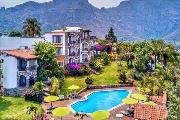 Hotel Posada Del Tepozteco, Tepoztlán