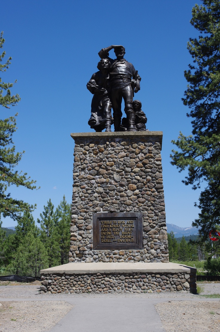 Donner Party Museum at Donner Lake   All the Places to ...