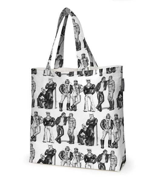"""Fellows"" Shopping Bag is made from high-quality, 100% cotton."