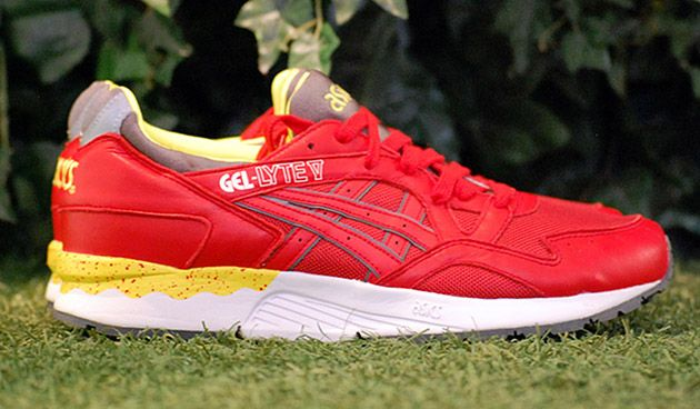 "ASICS 2014 Gel Lyte V ""Fiery Red/White"""