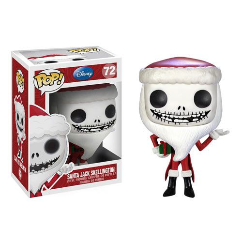 Funko POP! Disney - Vinyl Figure - SANTA JACK SKELLINGTON (4 inch)
