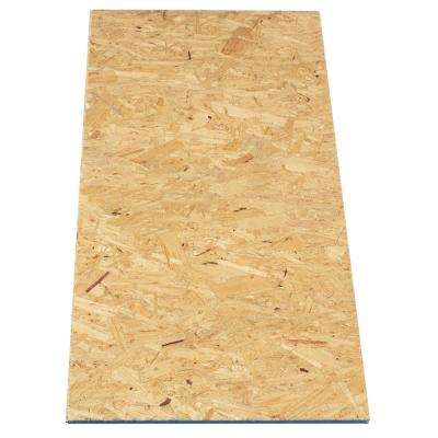 Attic Pine Oriented Strand Board (Common: 5/8 in. x 2 ft. x 4 ft.; Actual: 0.594 in. x 23.75 in. x 47.75 in.)