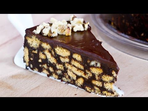 No-Bake Chocolate Biscuit Cake :: Home Cooking Adventure