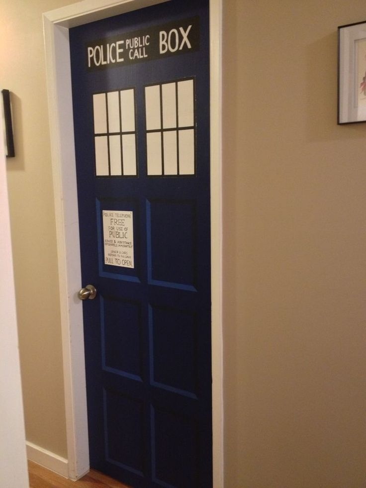 TARDIS Bedroom Door Part 61
