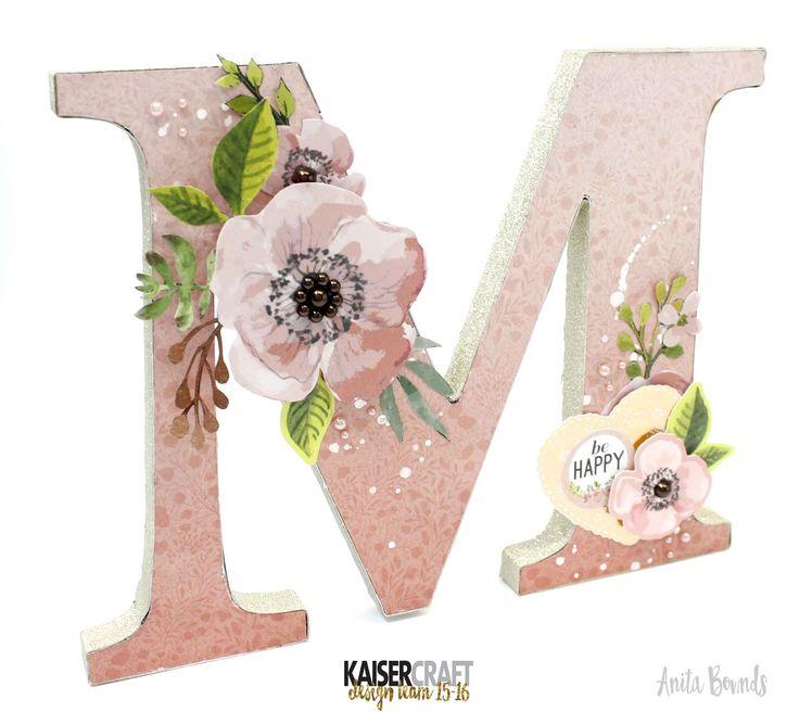 Monologue M   #Kaisercraft - by Anita Bownds