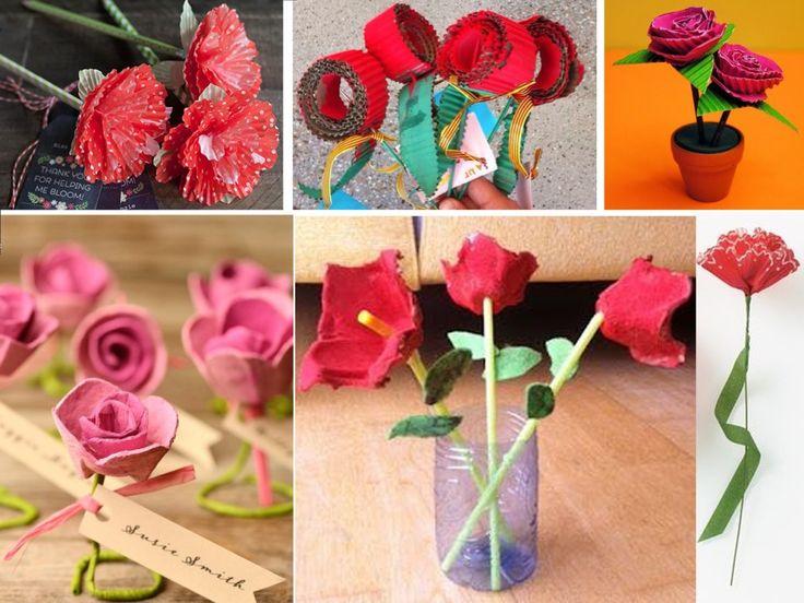17 mejores ideas sobre hueveras de carton en pinterest - Manualidades con hueveras ...