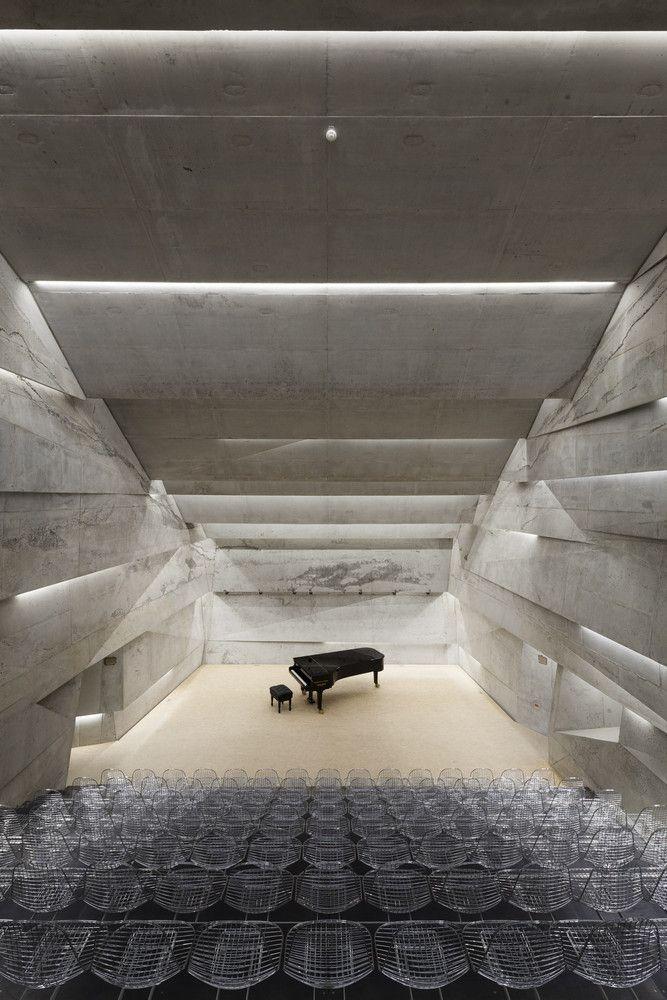 Gallery of Concert Hall Blaibach / peter haimerl.architektur - 46