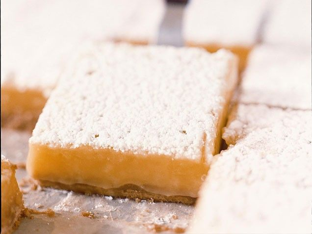 Lemon Bars on Brown Butter Shortbread from Tartine