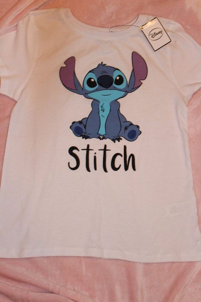 Ladies DISNEY STITCH T Shirt  Primark Tee Top
