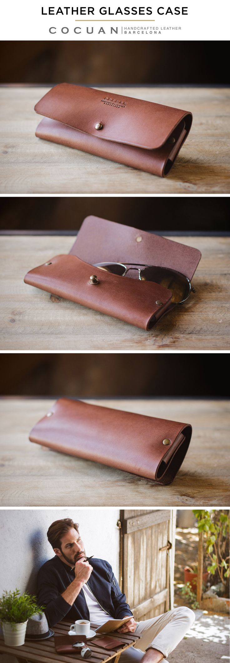 LEATHER GLASSES CASE www.cocuan.com