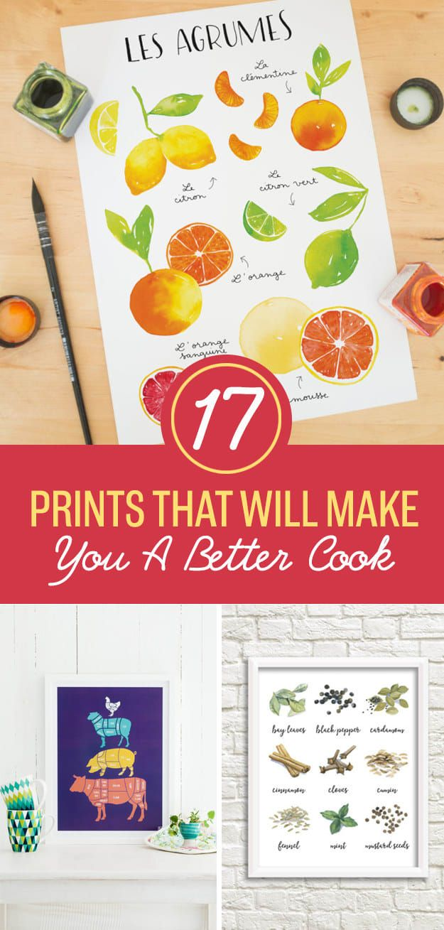 17 Posters That Will Make You A Kitchen Wizard