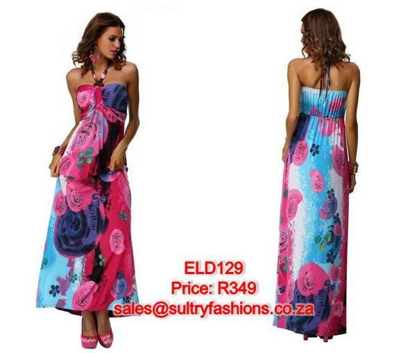 ELD129 - PRICE: R349  AVAILABLE SIZES: S/M (Size 8-10 / 32-34) L/XXL (Size 12-14 ) To order, email: sales@sultryfashions.co.za