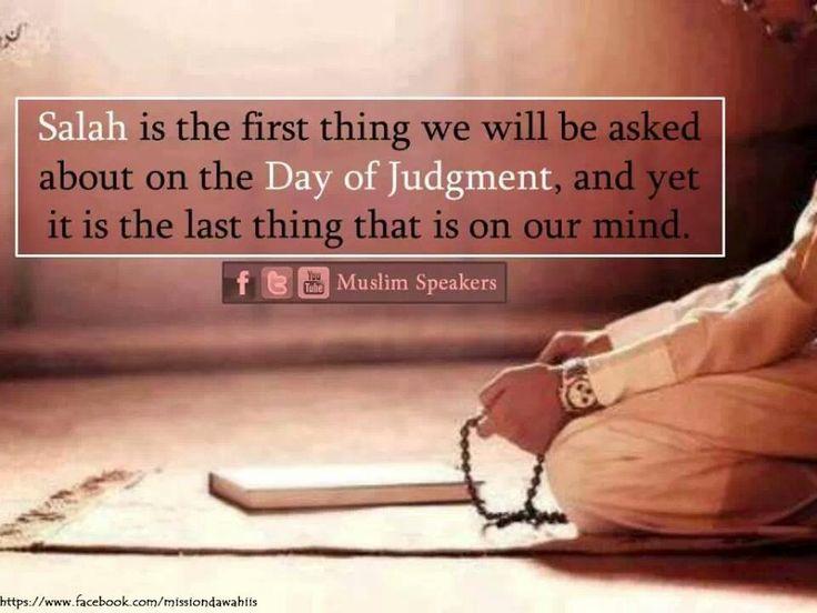 Salah...something to think about