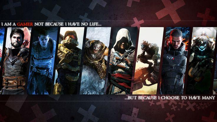 Gamer Wallpaper By Matticusiv Gaming Wallpapers Gamer Art