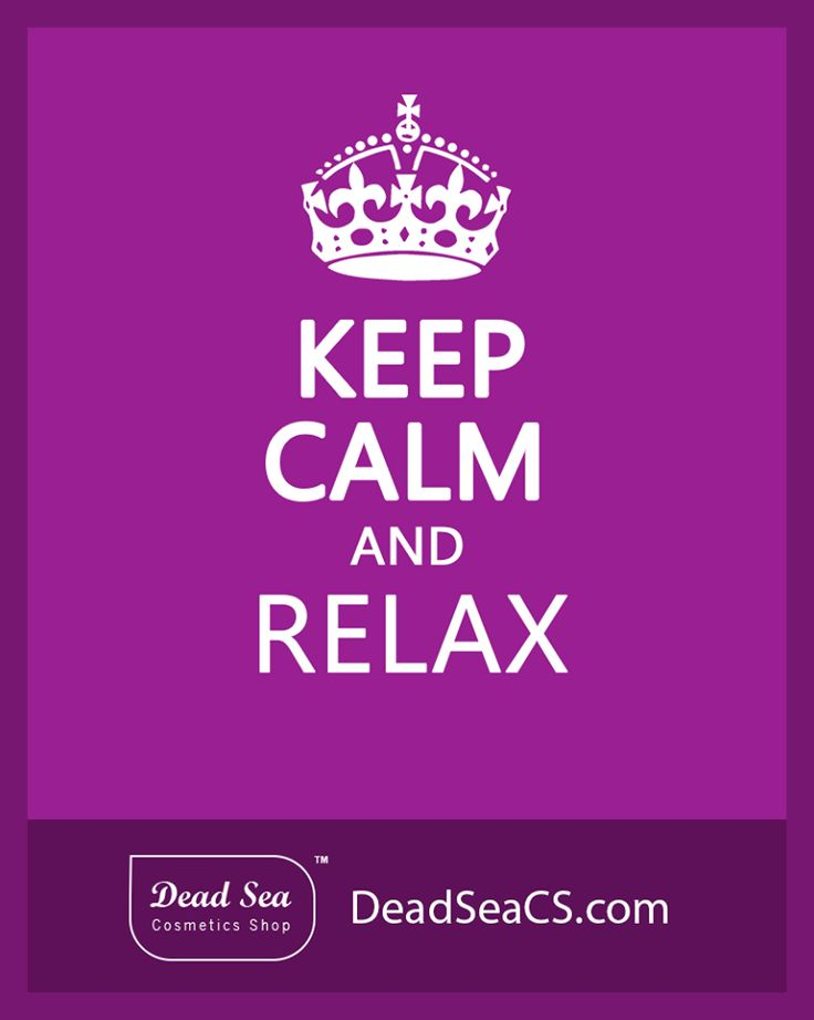 keep Calm & Relax   #WeLoveTheDeadSea #DeadSea