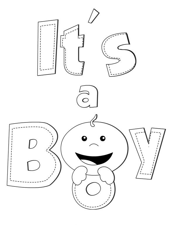 Free Printable Baby Coloring Pages For Kids Baby Coloring Pages Coloring Pages For Boys Coloring Pages For Teenagers