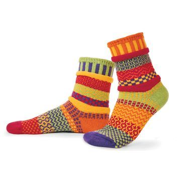 Mismatch Unisex Crew Socks by Solmate Socks