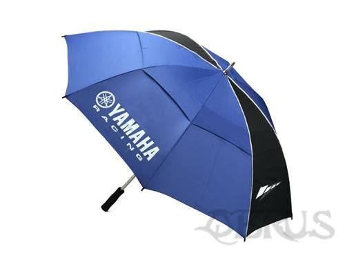 Yamaha Racing Umbrella Blue Big umbrella with Yamaha Racing logo and Speedblock graphics. Soft foam handgrip £25.37 inc vat.All available to order from QBRUS 01621 893227