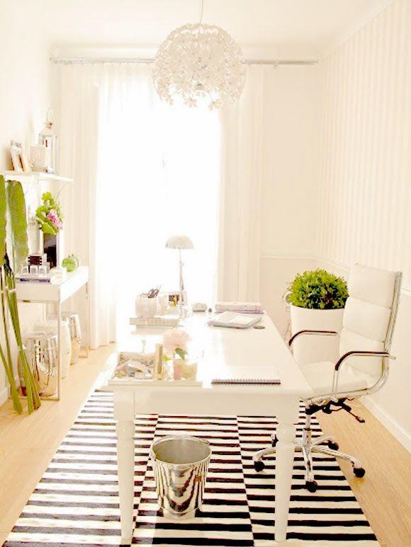 25 beste idee n over wit kantoor op pinterest kantoor aan huis bureau thuis bureau en - Kamer en kantoor ...