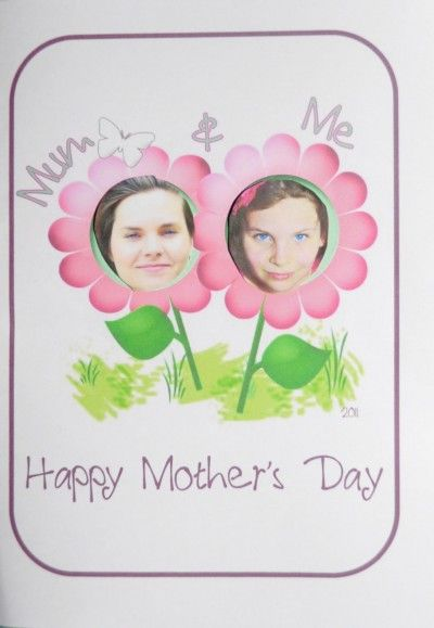 Mommy & Me Mother's Day Craft