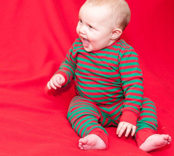 Tegan sporting Christmas Teegy Jammies!