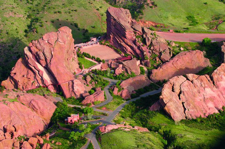 Red Rocks Amphitheatre, Denver, CO