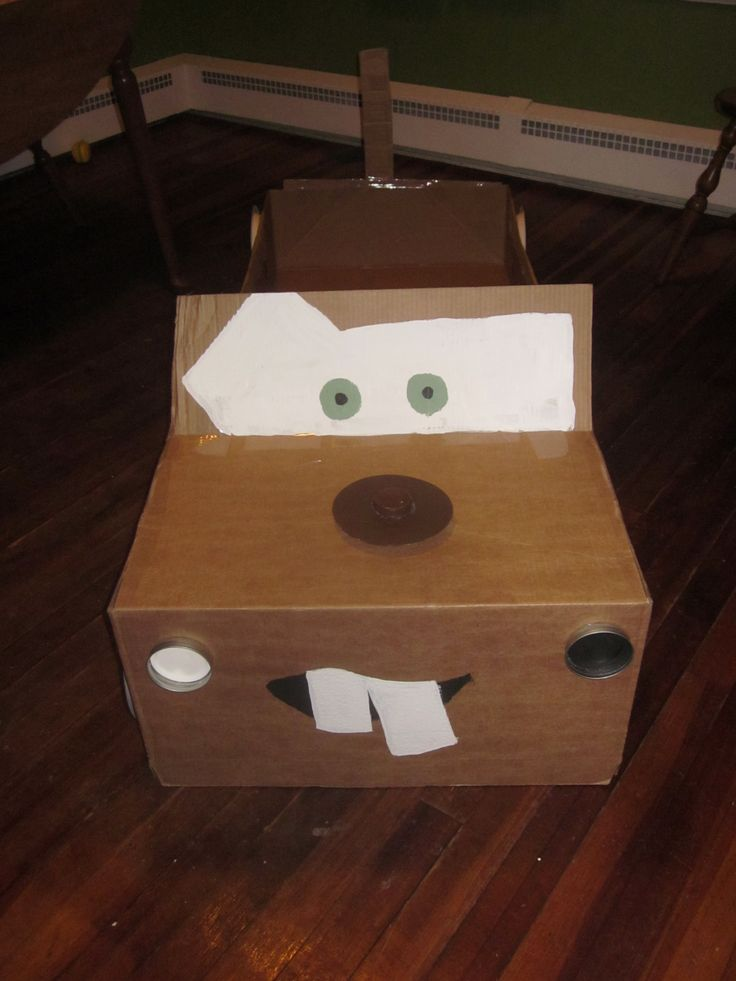 17 Best Images About Cardboard Box Car On Pinterest
