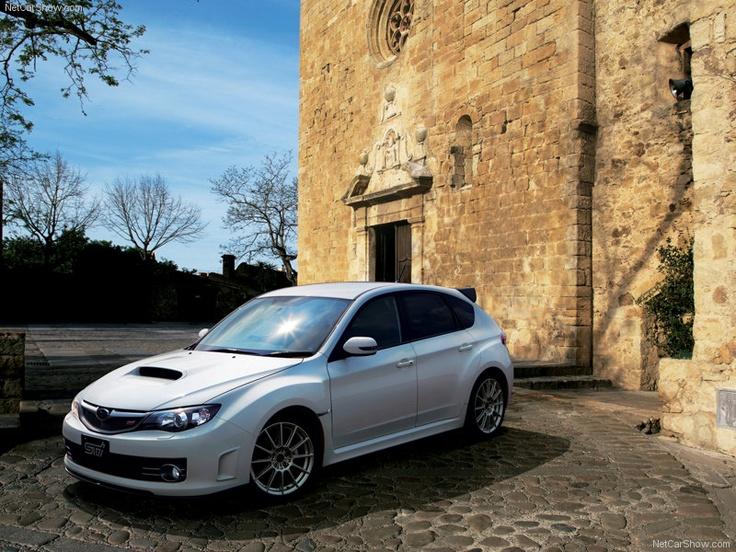 Subaru Impreza WRX STI 20th Anniversary - Front Angle, 2009, 800x600, 1 of 30