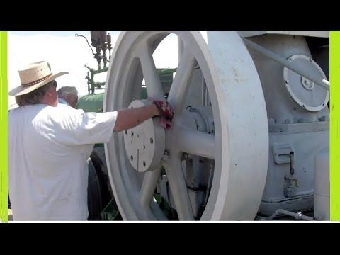 Giant 22+ TON  Engine  (START UP) (circa 1920)