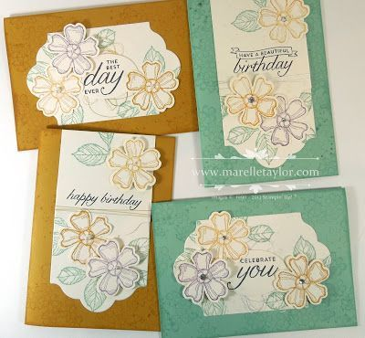Birthday Blossoms Stamp-a-Stack